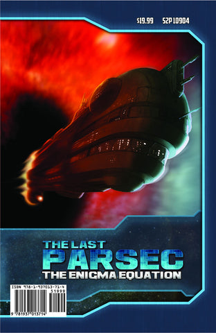 The Last Parsec: GM Screen + Enigma Equation Adventure (Savage Worlds)