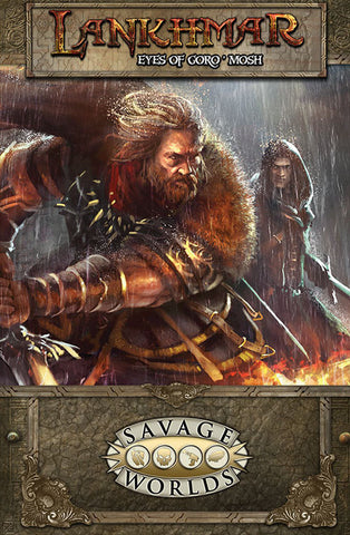 Lankhmar GM Screen and The Eyes of Goro'mosh Adventure
