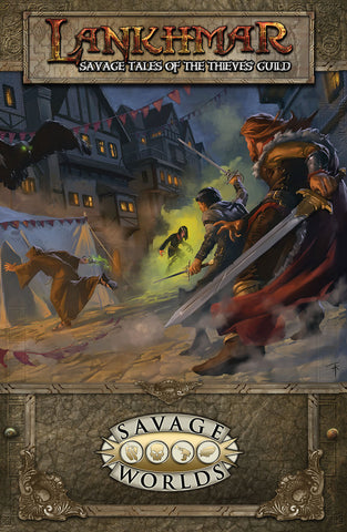 Lankhmar: Savage Tales of the Thieves' Guild Limited Edition (Hardcover)