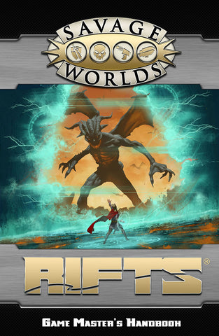 Rifts®: Game Master's Handbook Limited Edition (Savage Worlds, Hardcover)
