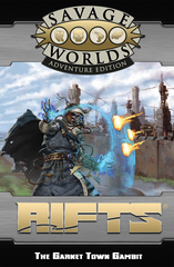 Savage Rifts® GM Screen and Garnet Town Gambit Adventure - Revised SWADE Edition