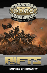 Savage Rifts® North America: Empires of Humanity SWADE