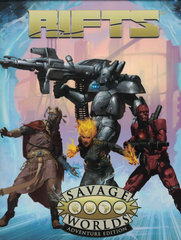 Rifts® for Savage Worlds Adventure Edition Boxed Set SWADE