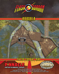 Flash Gordon™ Combat Map: Arboria / Fast Pursuit Rocket