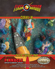 Flash Gordon™ Combat Map: Coralia / War Rocket