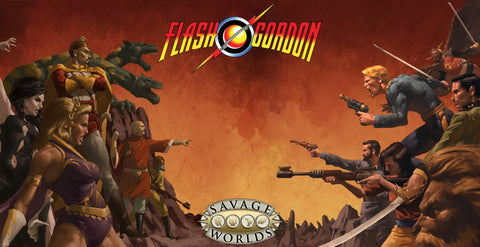 Flash Gordon Savage Worlds Box Set