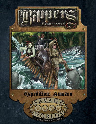 Grand Adventures: Rippers Resurrected Expedition - Amazon (SWADE)