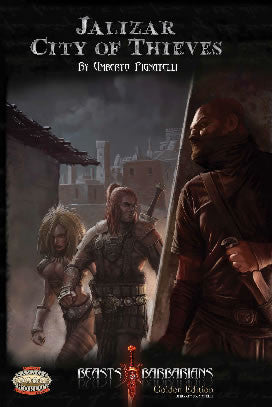 Jalizar, City of Thieves (Savage Worlds) PDF