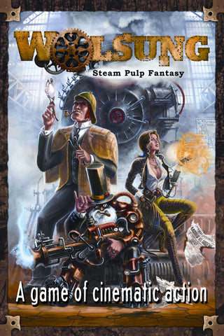 Wolsung: Steam Pulp Fantasy Bundle (Book & PDF)