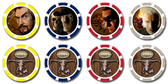Deadlands: Reloaded Fate Chips (Savage Worlds)