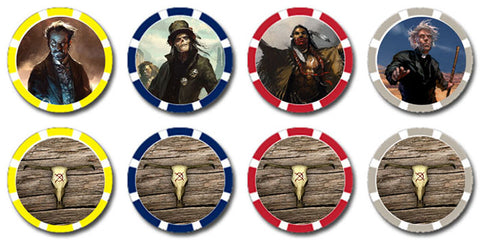 Deadlands 20th Fate Chips