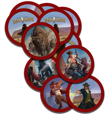 Deadlands: the Weird West Bennies - Set of 25 SWADE