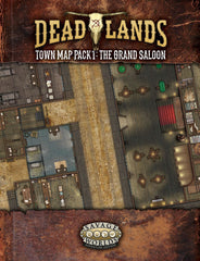 Deadlands Town Map Pack 1: Grand Saloon SWADE