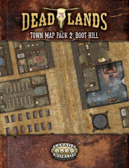 Deadlands Town Map Pack 2: Boot Hill SWADE