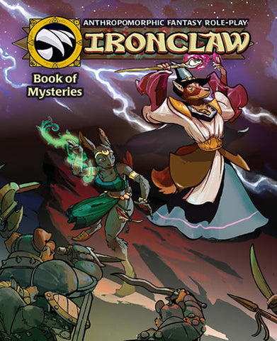 Ironclaw: Mysteries Book (Color)