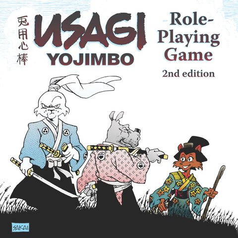 USAGI YOJIMBO Role-Playing Game (2nd Edition)