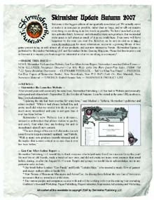 Skirmisher Update: Fall 2007 PDF