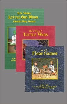H.G. Wells' Gaming Books Bundle PDF