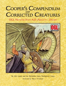 Cooper's Compendium of Corrected Creatures: OGL Monsters A–D PDF