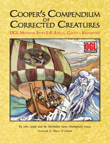 Cooper's Compendium of Corrected Creatures: OGL Monsters E-K PDF
