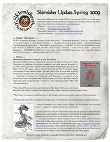 Skirmisher Update Spring 2009 PDF