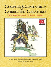 Cooper's Compendium of Corrected Creatures: OGL Monsters L–S PDF