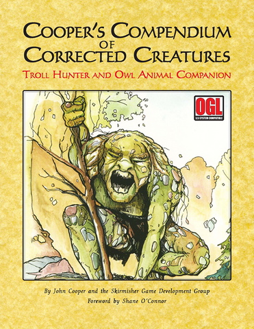 Cooper's Compendium: Troll Hunter and Owl Animal Companion PDF