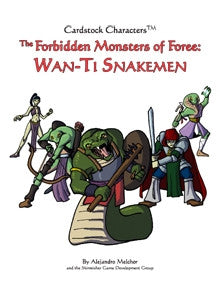 Forbidden Monsters of Foree (Cardstock Characters) PDF