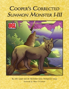 Cooper's Corrected Summon Monster I-III PDF