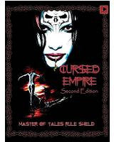 Cursed Empire: 2nd Edition Master of Tales Rule Shield