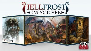 Hellfrost GM Screen w/ Adventure