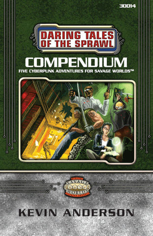 Daring Tales of the Sprawl Compendium One