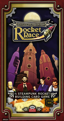 Rocket Race Card Game
