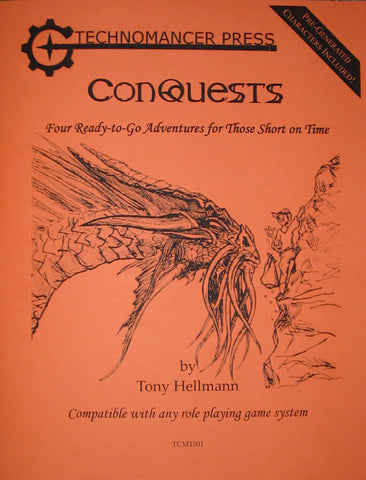 ConQuests: Four Ready-to-Go Adventures for Those Short on Time
