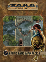 Torg Eternity: Living Land Map Pack #1