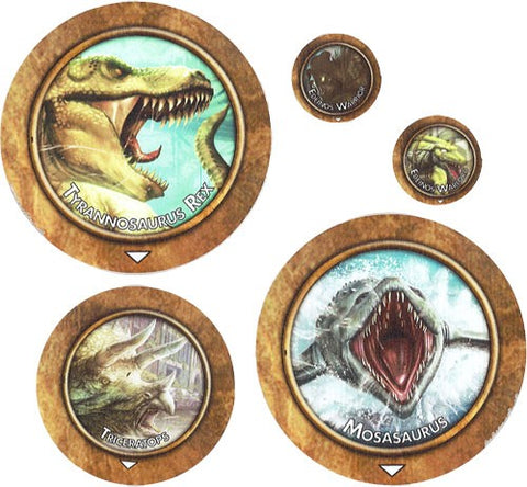 Torg Eternity: Living Land Threats Tokens