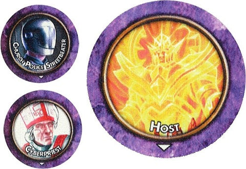 Torg Eternity: Cyberpapacy Threats Tokens
