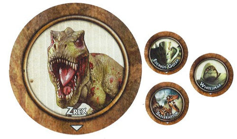 Torg Eternity: Living Land Minions of Rec Stalek Tokens