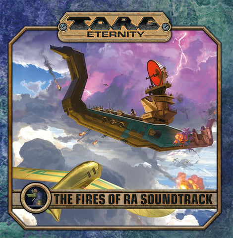 TORG Eternity: The Fires of Ra CD Soundtrack
