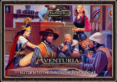 Aventuria Adventure Card Game - Return to the Inn of the Black Boar