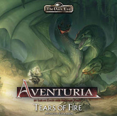 Aventuria Adventure Card Game – Tears of Fire Monster Expansion