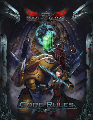 Wrath and Glory Core Rulebook Hardcover Warhammer 40000 Roleplay -  Ulisses Spiele