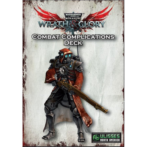 Combat Complications Deck: Wrath and Glory Warhammer 40000 Roleplay -  Ulisses Spiele
