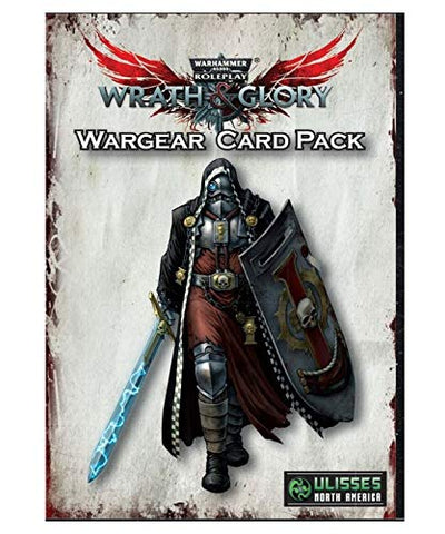 Wargear Card Pack: Wrath and Glory Warhammer 40000 Roleplay -  Ulisses Spiele