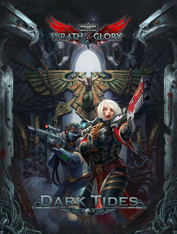 Dark Tides Adventure: Wrath and Glory Warhammer 40000 Roleplay -  Ulisses Spiele