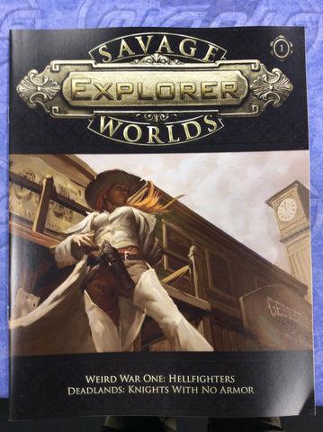 Savage Worlds Explorer Issue #1