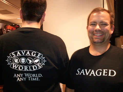 Savage Worlds T-Shirt