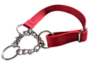 Half Chain Martingale Collar Medium - 6 Dollar Collars