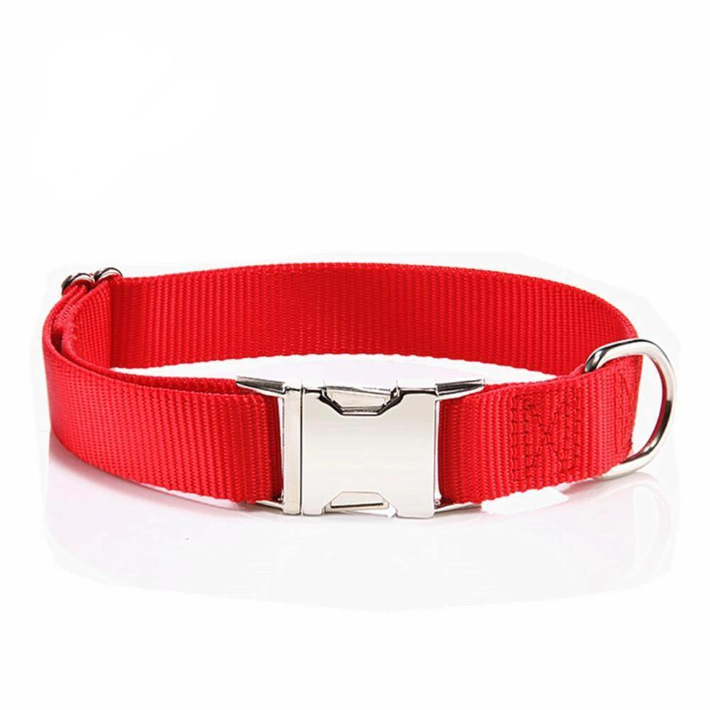 Adjustable Collar + METAL Quick Release Large - 6 Dollar Collars