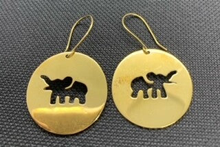 Elephant Bomb Earrings